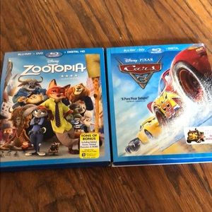 Zootopia and Cars 3
